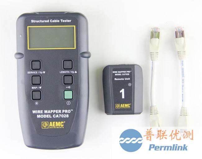 美国aemc ca7028网线测试仪